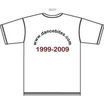 I Love Dancebites T-Shirt (back)